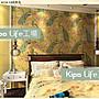 KIPO- 進口中式火鍋店餐廳- 皇宮宮殿壁紙- 壁貼...