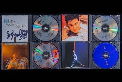張學友 CD 4隻 簽名版