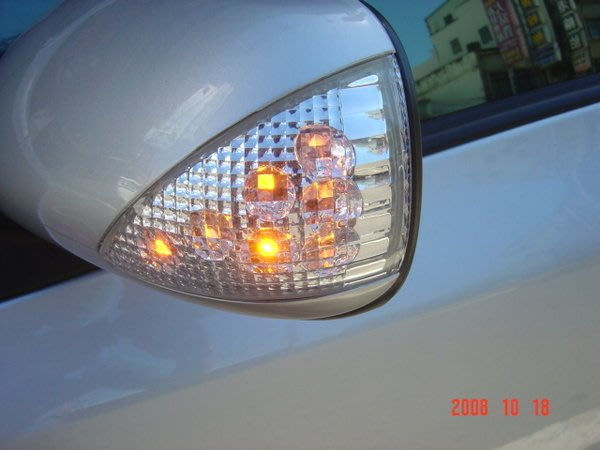 【桃園 國瑞精品】全新 YARIS  LED 後視鏡蓋 後視鏡殼