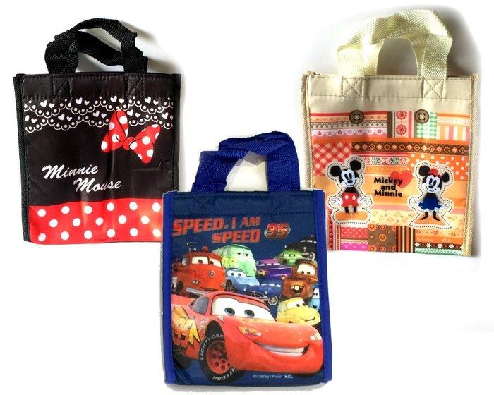 【台中好物】日本 迪士尼 米妮 麥昆 魔鬼粘小保溫袋 媽媽包 手提包 奶瓶包 便當袋