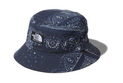 THE NORTH FACE TNF NOVELTY CAMP SIDE HAT BANDANA 漁夫帽