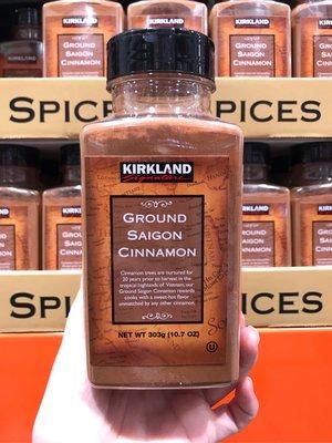 🚚宅配免運🚚 Costco好市多 KIRKLAND 科克蘭 肉桂粉 303g ground cinnamon