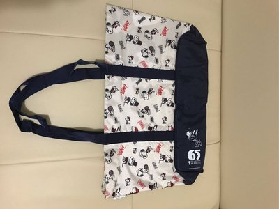 Snoopy tote bag 65 years 輕便袋