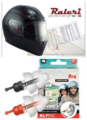視聽套餐( 省100元) : Raleri 防霧鏡片 +  MotoSafe Pro 抗噪騎士