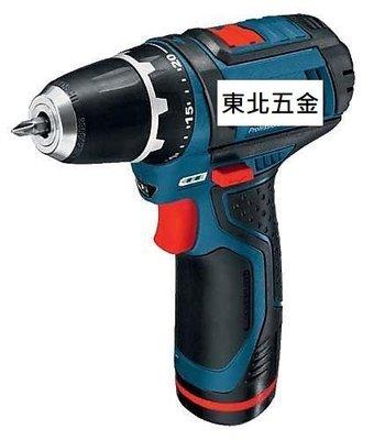 附發票(東北五金)BOSCH GSR 10.8V-2-LI 充電式鋰電電鑽起子機 GSR10.8V-2-Li單鋰電