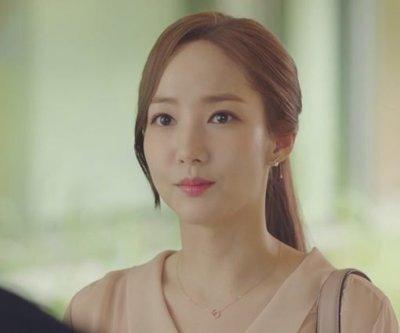 韓風♥韓劇《金秘書為何那樣》朴敏英朴敘俊同款圓墜防過敏項鍊