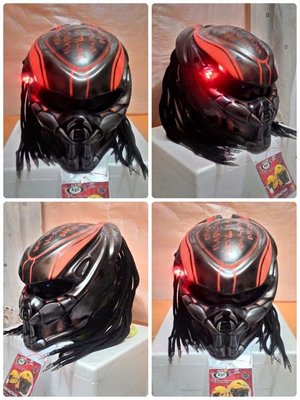 終極戰士異形怪獸造型摩托車安全帽(客製款式)