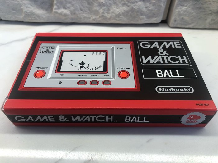 2009 Nintendo 任天堂 Game&Watch Ball 復刻版
