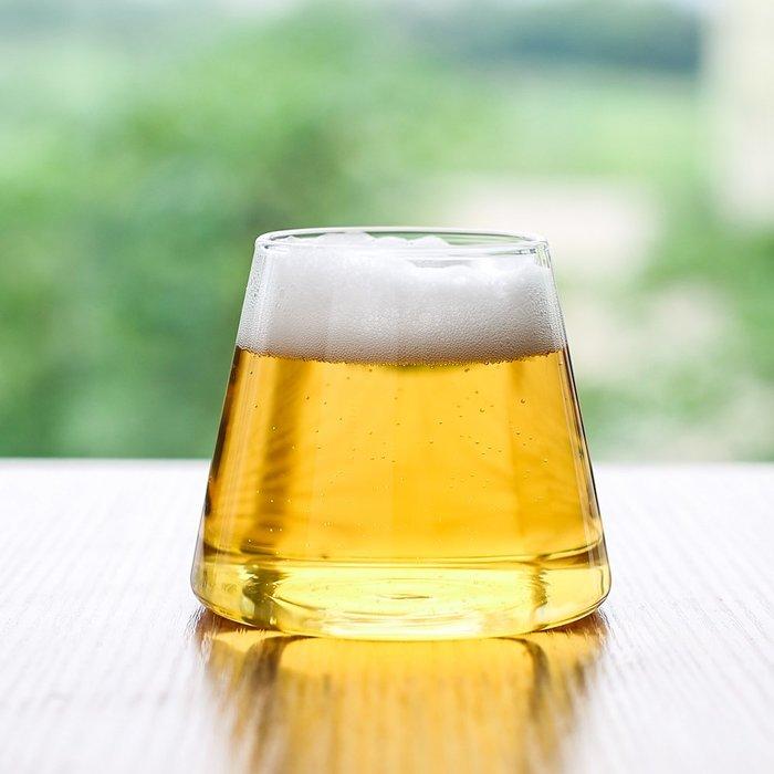 奇奇店-創意富士山玻璃杯水杯喝茶杯酒杯果汁杯飲料杯子B-121#簡約 #輕奢 #格調