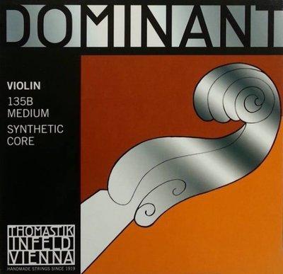 『放輕鬆樂器』 全館免運費 奧地利 Dominant 135B 小提琴弦 4/4 3/4 正版 套弦