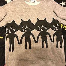 全新 日本 正貨 Ne-net Nya 衛衣 sweater 貓 cat 長䄂 size 2