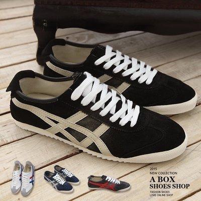格子舖*【KV0857】*限時特價*百搭潮流 高品質漸層洗色真皮復古休閒鞋 帆布鞋 4色現貨
