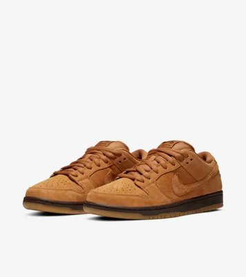 Nike SB Dunk Low 'Wheat Mocha' BQ6817-204 男鞋