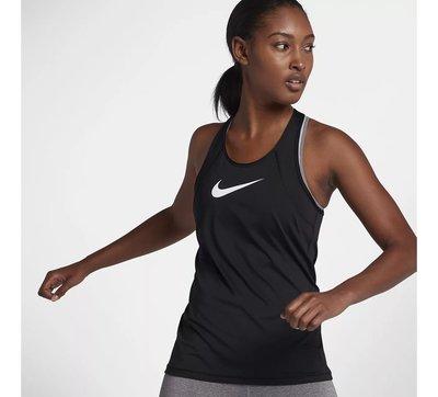 NIKE PRO LOGO 黑白 黑色 健身 瑜珈 重訓 慢跑 透氣 快速排汗 背心 889543-010 請先詢問庫存