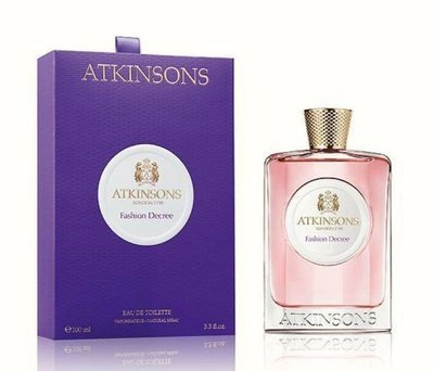 英國皇室御用香水ATKINSONS fashtion decree EDT 時尙法則女性淡香水100ml