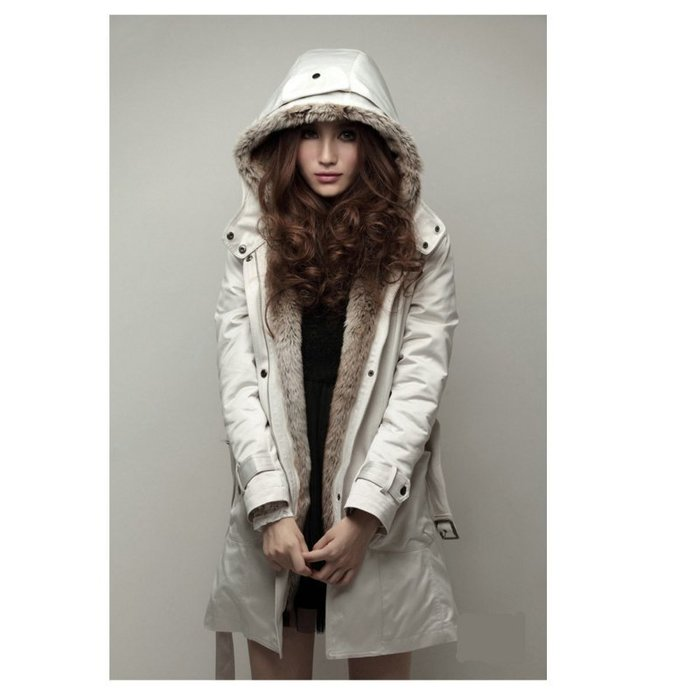 韓國連線 3way 長版外套 大衣 夾克  防風外套 刷毛大衣 上衣 女生衣著 披風 韓版 衣服 女裝 軍裝外套 韓妞