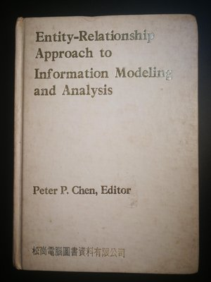 原文電腦書 Entity Relationship Approach to Information Modeling and Analysis,  松崗圖書翻印