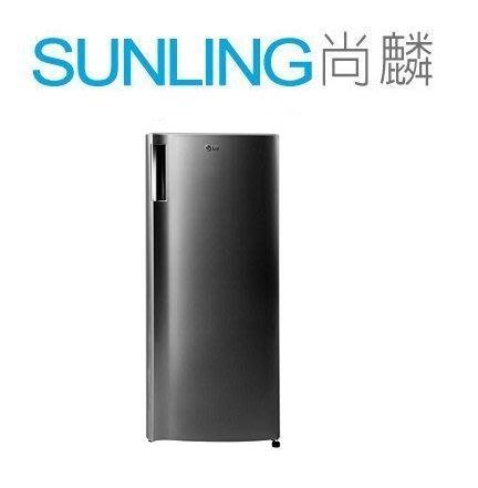 SUNLING尚麟 LG 191L 變頻單門冰箱 GN-Y200PS MINI冷凍庫 新款GN-Y200SV 歡迎來電