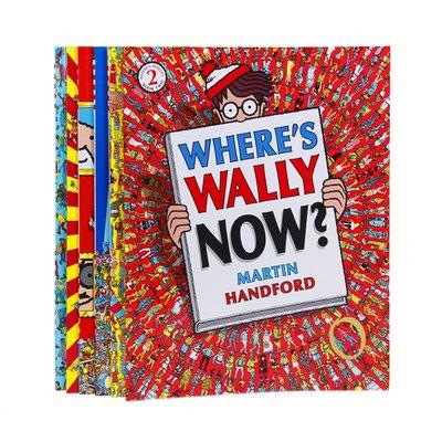 聚吉小屋 #Wheres Wally威力在哪里益智游戲繪本眼力訓練網紅書籍超大開本