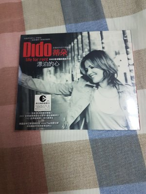 Dido 蒂朵 漂泊的心 life for rent 專輯cd 全新未拆