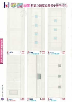 華麗厚板塑鋼門系列--沙比利/ABS新潮/和風/華麗/雷克拉/新思潮/新世紀/房間門/浴廁門/
