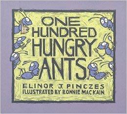 *小貝比的家*ONE HUNDRED HUNGRY ANTS/平裝/3~6歲/第三階