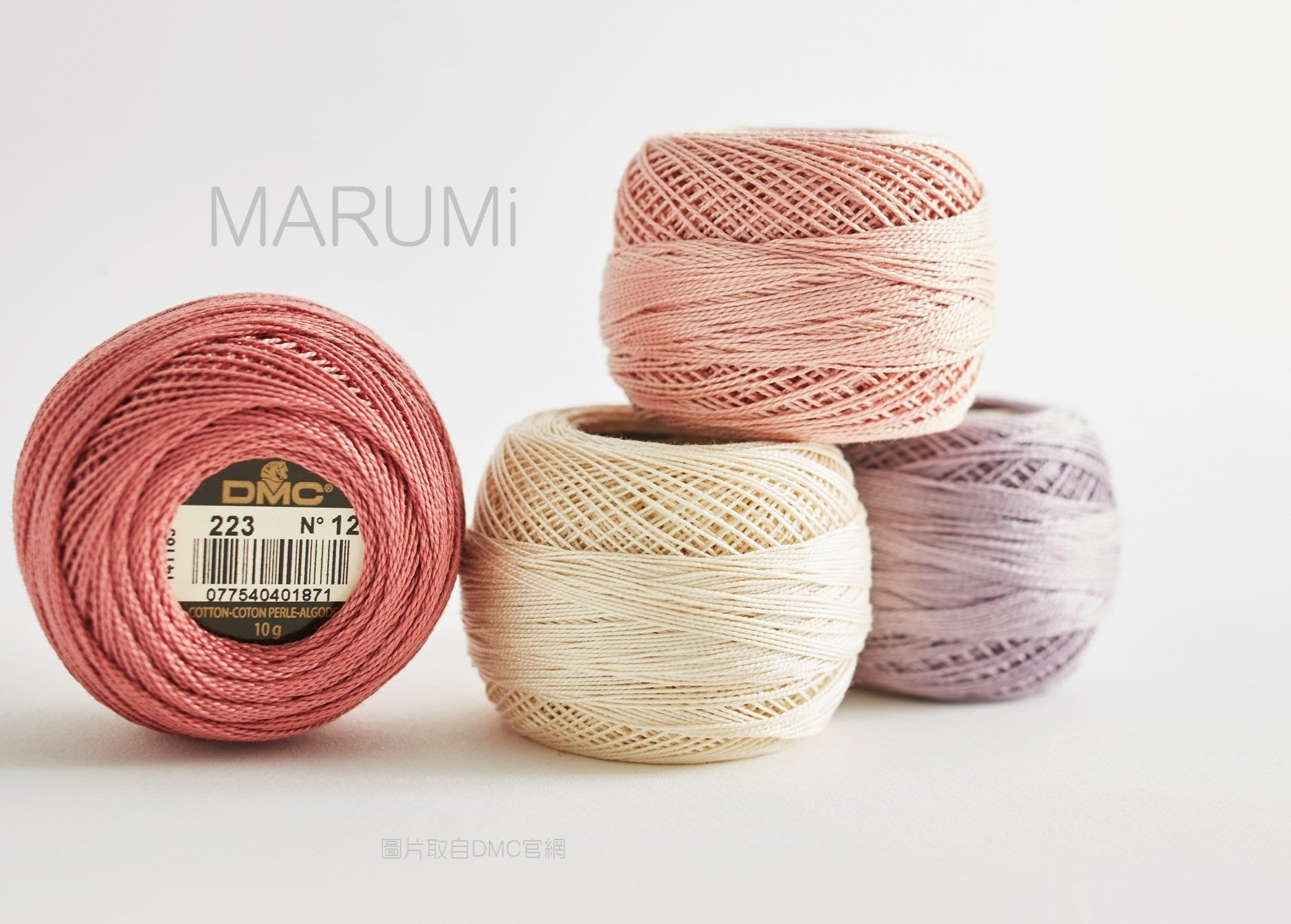☆MARUMi雜貨☆【DMC 法國進口繡線12號繡線】