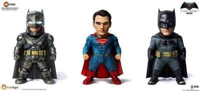 【一手動漫】野獸國 KidsLogic DC01 蝙蝠俠對超人 正義曙光 三入 套裝組