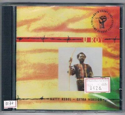 [鑫隆音樂]西洋CD-U ROY尤.洛伊:NATTY REBEL-EXTRA VERSION  (全新)免競標
