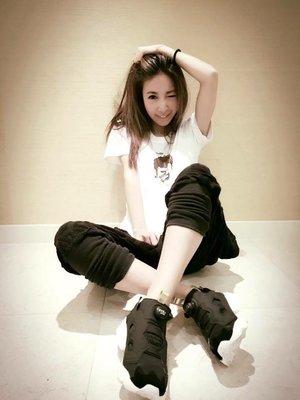 Reebok Insta Pump Fury Tech 銳步 黑金 充氣鞋 運動鞋 與許維恩同款 布鞋 休閒鞋 女款限定 韓國 Korea 沐朵