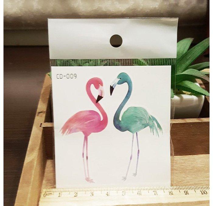 【萌古屋】火鶴CD-009 - 防水紋身貼紙刺青貼紙K12