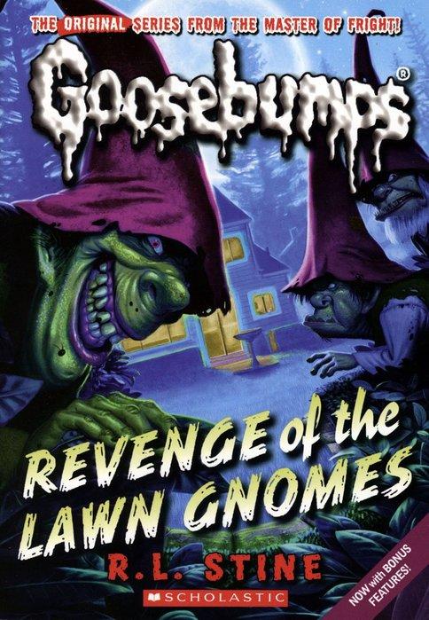 *小貝比的家*GOOSEBUMPS#19:REVENGE OF THE LAWN GNOMES/平裝/7~12歲/小說