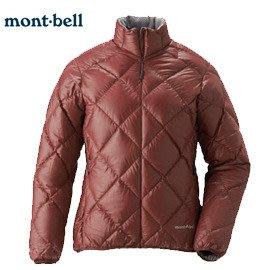 丹大戶外用品 日本【mont-bell】LT Alpine 女款羽絨外套 1101360-BURG 酒紅