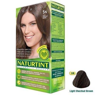 【seven健康小舖】【Naturtint 赫本染髮劑】 (5N淺棕黑色)