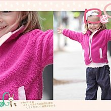 【B& G童裝】正品美國進口RuffleButts  桃紅色軟刷毛長袖外套18-24mos