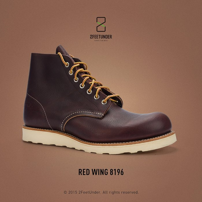 2FeetUnder - Red Wing 8196 Classic Round