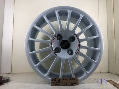 OZ鋁圈AC2-15,7*16 ,4*114.3,ET40 16吋鋁圈適用NISSAN,雅歌