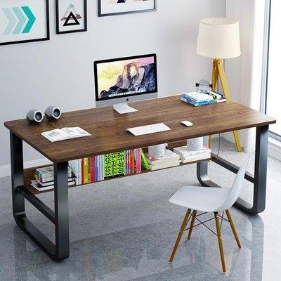 哆啦本鋪 電腦桌臺式桌家用簡約現代經濟型書桌辦公桌學生寫字桌簡易小桌子D655