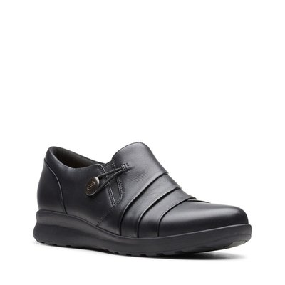 【英國代購】⑤ Clarks Un Adorn Loop Black Leather 售價4580元