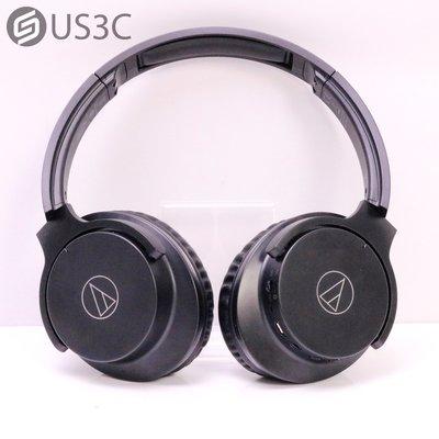 【US3C-台中店】【一元起標】Audio-technica ATH-ANC500BT 無線抗噪耳機 內建麥克風 二手耳機