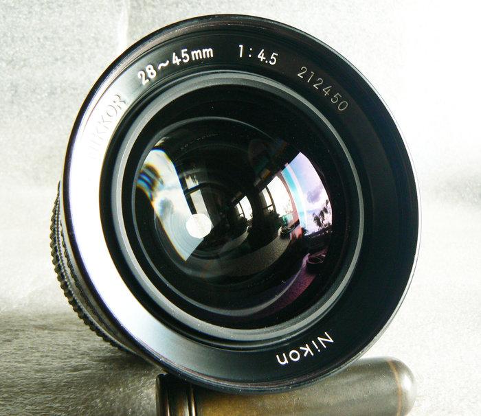 【悠悠山河】一千零一夜經典銘鏡 優秀風景街拍鏡 Nikon 28~45mm F4.5 恆定光圈 AI 早期記者最愛用鏡頭