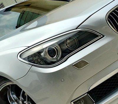 IDFR ODE 汽車精品 BMW 7系列 7-F01 09年式 鍍鉻大燈框