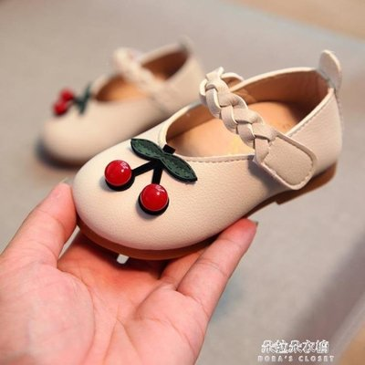 ZIHOPE 學步鞋夏季女寶寶學步鞋1-3歲嬰兒鞋子涼鞋女童公主鞋0-1歲2軟底5小皮鞋ZI812