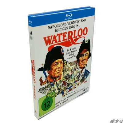 滑鐵盧戰役Waterloo BD高清1080P完整版謝爾蓋經典戰爭電影藍光碟 全新盒裝 繁體中字