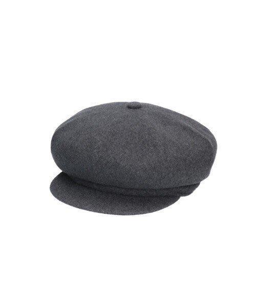 【蜜小姐】美國正品 Kangol Wool Spitfire 袋鼠 刺繡 羊毛 報童帽(灰)