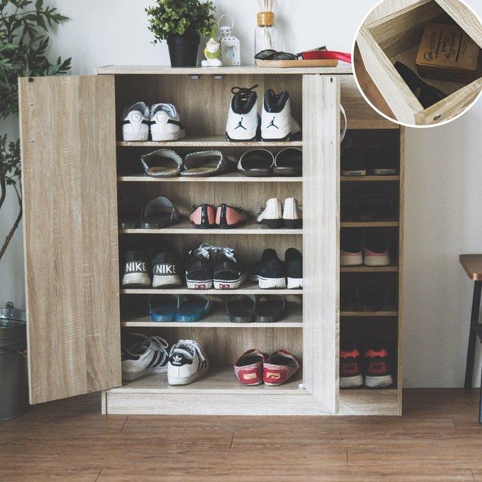 完美主義|賽門6層雙門5格一抽鞋櫃 置物櫃 收納櫃 櫥櫃 隙縫櫃 衣櫃 斗櫃 鞋架 櫃子 電器櫃 邊櫃【N0066】