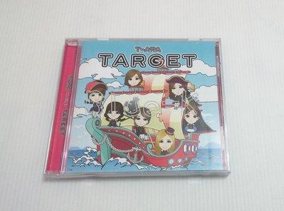 T-ARA TARGET 通常盤B 空專 無小卡 CD殼裂痕