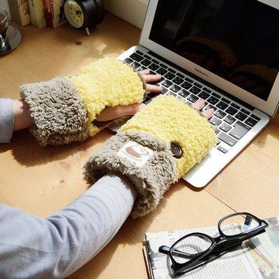 尼德斯Nydus~* 日本進口 可愛辦公室小物 療癒系 抗寒專區 露指 手套 PC作業專用