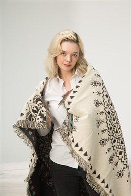 外貿印度 曼德拉休 閑民族風 蓋毯掛毯 休閒棉質 裝飾毯毛 毯圖騰