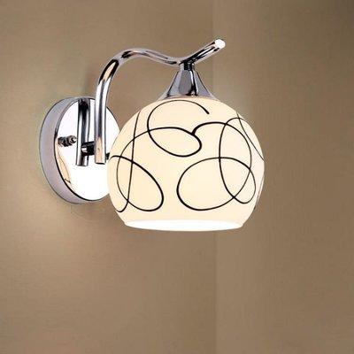 創意壁燈溫馨led床頭燈現代簡約臥室客廳燈過道走廊樓梯陽台燈具 好康免運